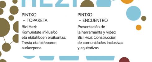 Bizi Hezi: Construcción de comunidades inclusivas .......