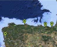 Mapa de Oficinas