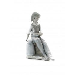 Pescador de porcelana