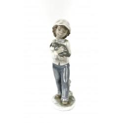 Figura de porcelana Nao