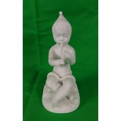 Figura de porcelana biscuit de Bidasoa