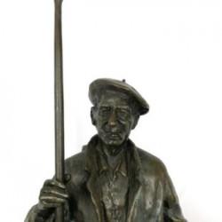 Arrantzale o pescador de Vicente Jauregui