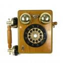 Teléfono de pared.
