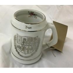 Taza de porcelana - IRUN - EUSKALHERRIA