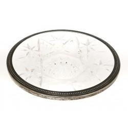 Fuente de cristal tallado